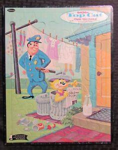 "1961 Whitman TOP CAT 11.5x14.5"" Frame-Tray Puzzle #4457 FVF 7.0 Hanna-Barbera"