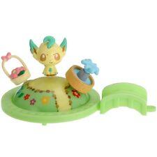 Pokemon - PitaPoke Figure Playset LEAFEON (Eevee) - Takara Tomy Japan Toy