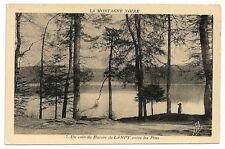 Carte postale ancienne Montagne Noire Bassin Lampy Pins