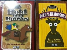 Lot Of 2 Games Hold Your Horses & Deer in the Headlights