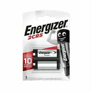 Energizer 245 2CR5 6V Lithium Power Photo Battery CR245 DL245 EL2CR5 Multi-Packs