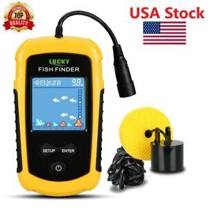 Fish Finder Handheld Portable Depth Fishing Fishfinder Kayak Sonar Finders Echo