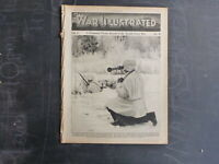 1940 THE WAR ILLUSTRATED VOL. 1 #19 GRAF SPEE SINKING, FINLAND AFLAME