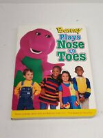 Barney Plays Nose To Toes - Board book By Margie Larsen