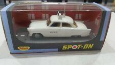 Dinky Toys     TRI-ANG SPOT    FORD ZODIAC POLICE CAR