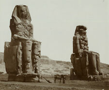 Photomécanique Antonio Beato Egypte Colosses de Memnon Vers 1880