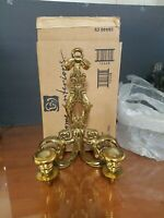 Home Interiors HOMCO 2 Arm GOLD Sconce in the box