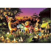 Tenyo Japan Jigsaw Puzzle D-1000-270 Disney Winnie-the-pooh (1000 Pieces)
