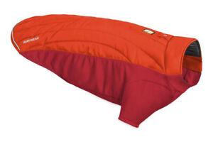"Ruffwear Powder Hound Hybrid Insulated Dog Jacket Sockeye Red Small 22-27"" NWOT"