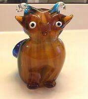 Murano Art Glass Owl