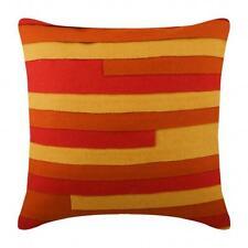 18x18 inch Luxury Felt Sofa Pillowcase Orange, Fabric - Summer Juice