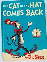 The Cat in the Hat Comes Back by Dr. Seuss 1958 Hardcover Book Club Edition