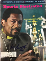 Bill Russell Signed Sports Illustrated December 23 1968