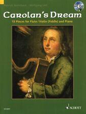 Carolan's Dream 15 Pieces for Flute Violin Fiddle and Piano Instrument 049016985