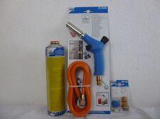 CFH Set - PZ 2000 Brenner - Set mit Schlauch, Anschlußventil und Gas AT3000