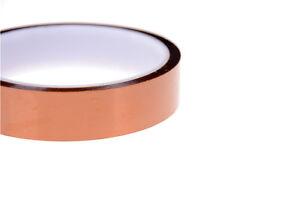1 Rolle hitzebeständiges Klebeband aus langlebiges Polyimid und Silikon 35mm
