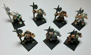 Warhammer Fantasy Chaos Beastmen 7 Figuren