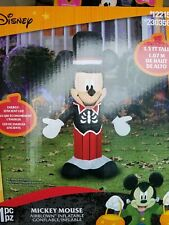 Halloween Disney 3.5 ft Mickey Mouse Lighted Yard Airblown Inflatable