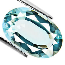 8.58ct 100% Natural earth mined rare top quality green hue blue color aquamarine