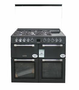 Leisure 100cm Dual Fuel Range Cooker Glass Lid CC100F521T Anthracite #2453