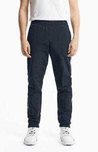 Champion Jacquard Logo Tape Tracksuit Joggers Men's Dark Blue Activewear Pants