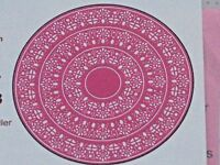 CHEERY LYNN DIES - DL164  DOILY STACKER CIRCLES 1,2,3 FOR SCRAPBOOKING AND CARDS