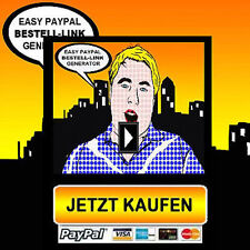 Paypal Bestell-Link Generator - Bezahlfunktion generieren - versch. Lizenzarten
