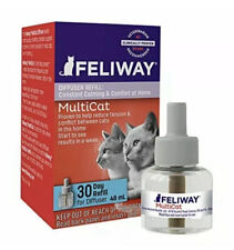 🔥🔥(2) Feliway MultiCat Diffuser Refill(48 mL) Harmony&Calming *Two*