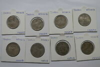 INDIA REPUBLIC 2 RUPEES COLLECTION A99 BX10 - 131