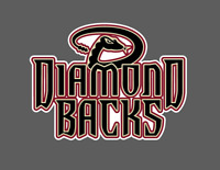 Arizona Diamondbacks Logo Vinyl Vehicle Laptop Decal
