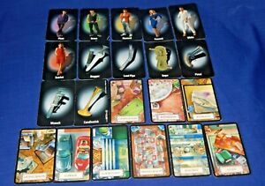 """CLUEDO CARDS - INDIVIDUAL CHARACTERS / WEAPONS / ROOMS """"D"""" - 2011 -Please choose"""