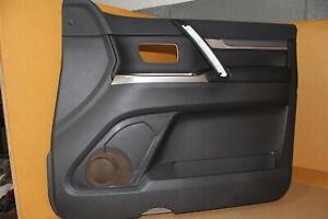 Door Trim - Black - RHF (Leather Arm) - Mitsubishi Pajero NS, NT, NW, NX - NEW G