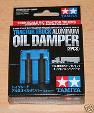 Tamiya 56515 Tractor Truck Aluminum Oil Damper (2 Pcs.) (Scania/Actros/MAN), NIB