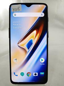 OnePlus 6T A6013 256GB GSM Unlocked Smartphone Cellphone Black X208