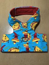 Hand Made Dog Harness Taco Hot Chili Peppers XL (1445)