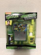 Nickelodeon Teenage Mutant Ninja Turtles Bath Time Play Shave Set Nib