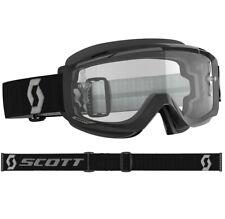 Scott Split OTG Goggle Vetro Clear Works Nero / Grau Motocross/enduro Occhiali