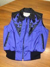 G. Lundeen Outerwear ROCKABILLY VEST Western Men's Medium M Blue USA MADE Custom