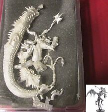 Ral Partha 10-378 Giant Wyvern with Warlord Rider Chaos Warrior Lord Champion