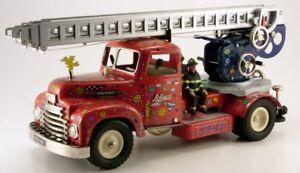 Schuco Constructions Feuerwehr James Rizzi  # 50020001