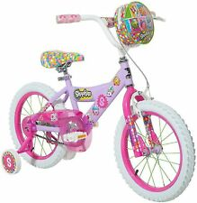 "Dynacraft Shopkins Girls' 16"" Bike Bicycle Cycling Toys Ride."