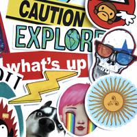 40 Sprechblasen Stickerbomb Retrostickern Aufkleber Sticker Mix Decals Emoji