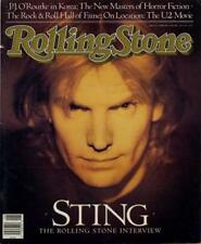 Sting The Police Interview/article 1988