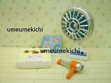 Re-ment dollhouse miniature old fashioned electric fan scale hair dryer