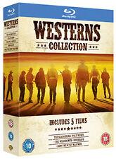 WESTERNS COLLECTIONS (5 film set) - BLU-RAY - REGION B UK
