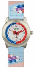 Adora Young Line Armbanduhr analog Lernuhr für Kinder mit Leder/Textilband 29416