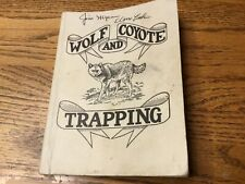 Vintage 1978 wolf and Coyote trapping manual