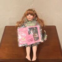Garden Fairy Doll Paradise Galleries Treasure of the Emerald Isle Porcelain Doll