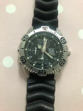 Seiko Scuba Diver's Depth Sensor Auto Start Stainless Steel Watch Seiko - 7k52-