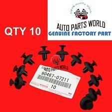 Genuine Toyota Camry Highlander Tc Es350 Rx350 Ct200h Engine Cover Clips Set X10 Fits 2013 Lexus Rx350